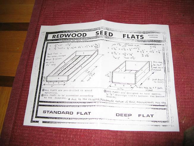 instructionsforRedwoodSeedFlats