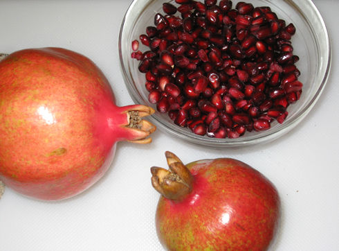 Read more about the article Harvesting Pomegranates