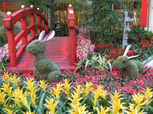 rabbitsinflowers