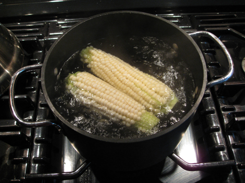 7 minutes  to delicious corn