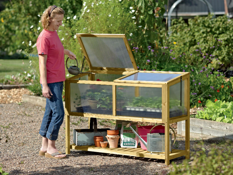 Build Small Greenhouse Ask Gardenerd How To Build A Mini Greenhouse