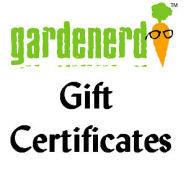 Gardenerd Gift Certificates