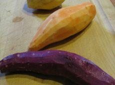 Home Grown Sweet Potatoes