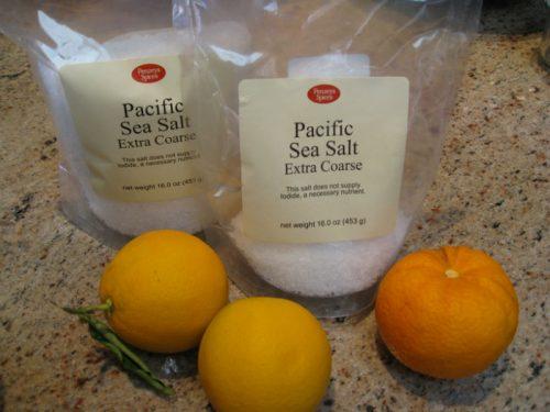 Citrus salt ingredients