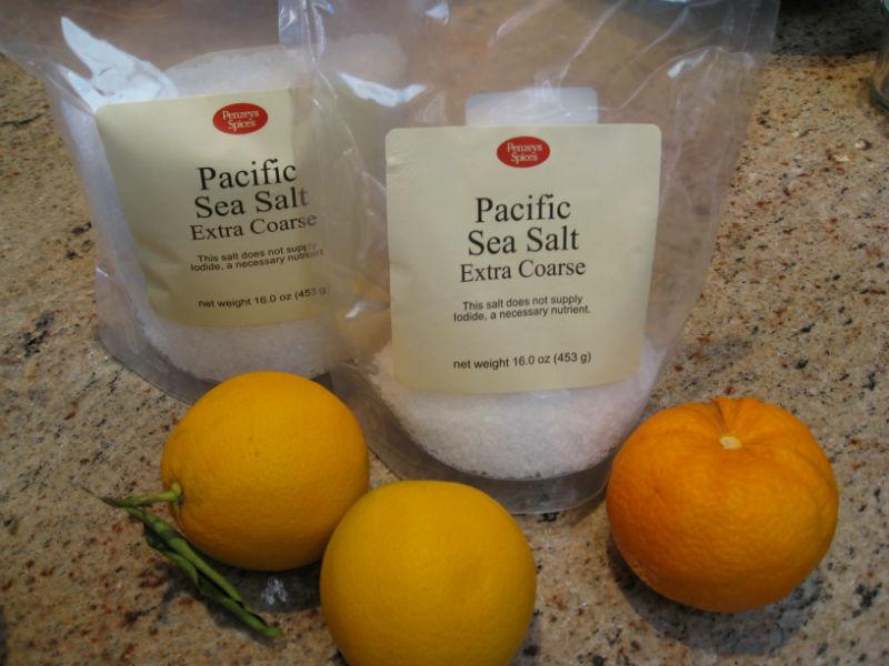 Gardenerd | Making Citrus Salt