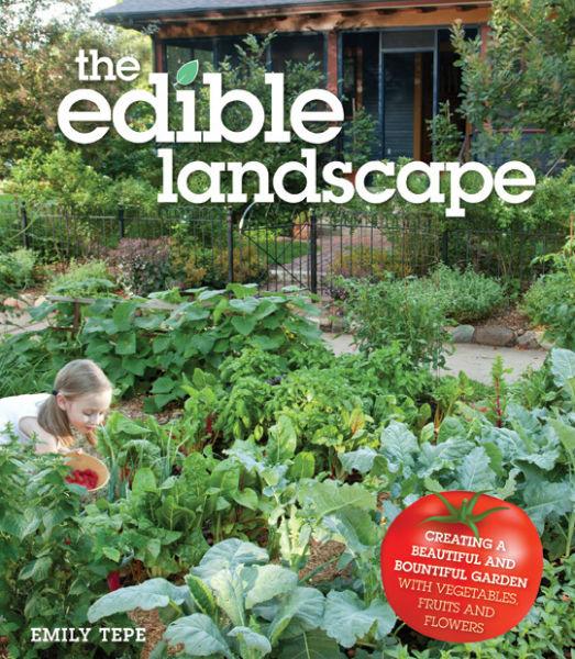 Gardenerd book review the edible landscape for Garden design ideas book