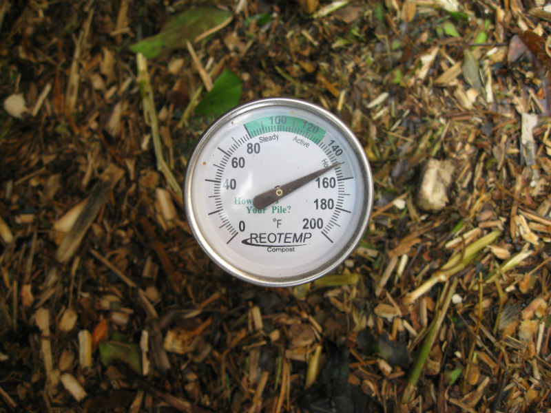 """The """"thermal"""" in active batch thermal composting"""
