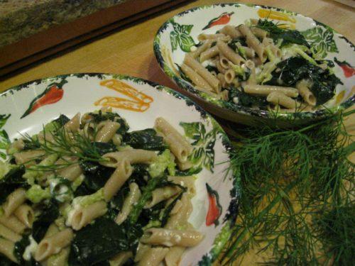 Read more about the article Recipe: Pasta al Cavolo Broccolo e Romanesco (Gluten-Free)
