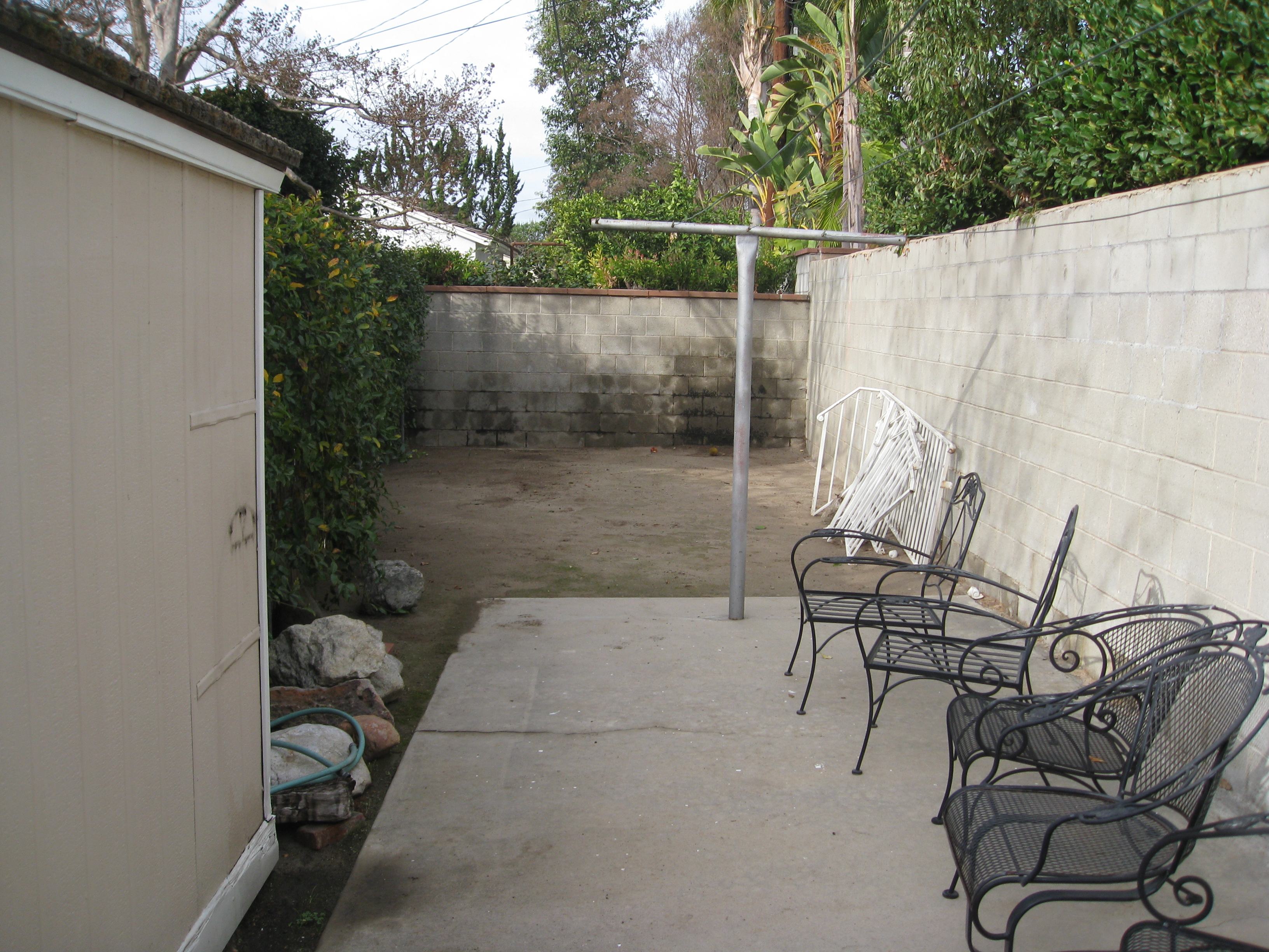 Space for 6 fruit trees, coming right up!