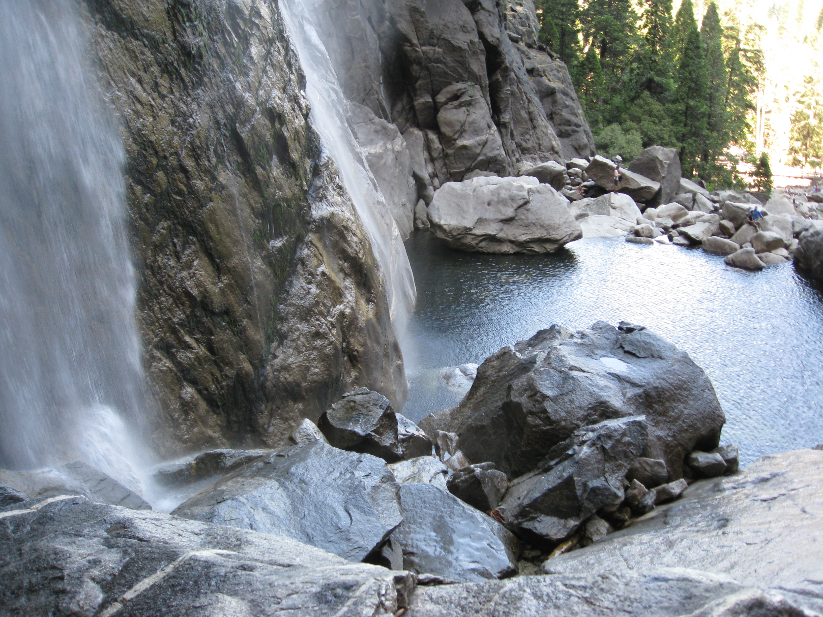 Lower Yosemite Falls' beauty is overwhelming
