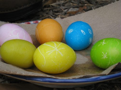 Read more about the article Dying Colored Easter Eggs