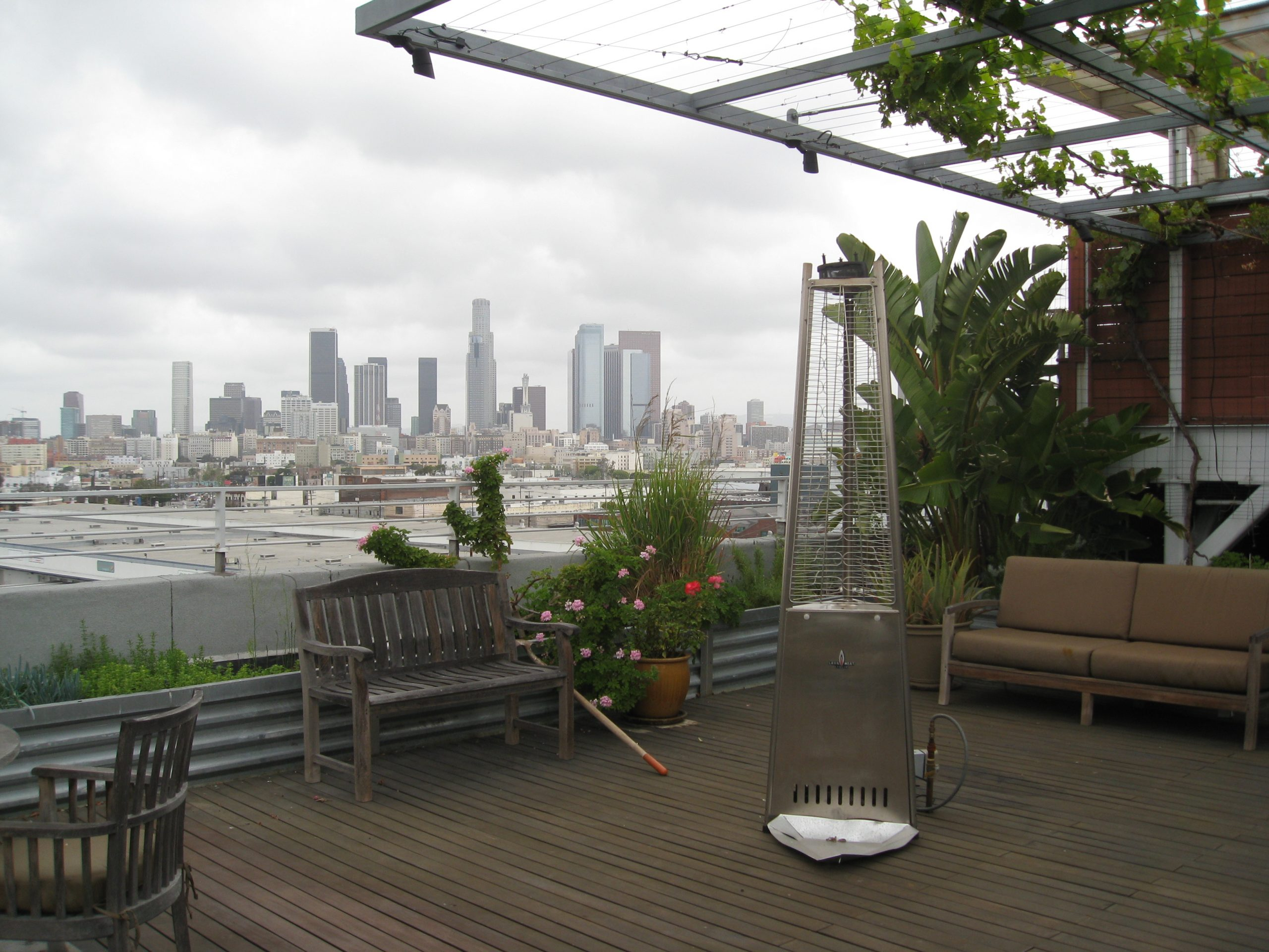 Read more about the article Rooftop Garden in L.A.