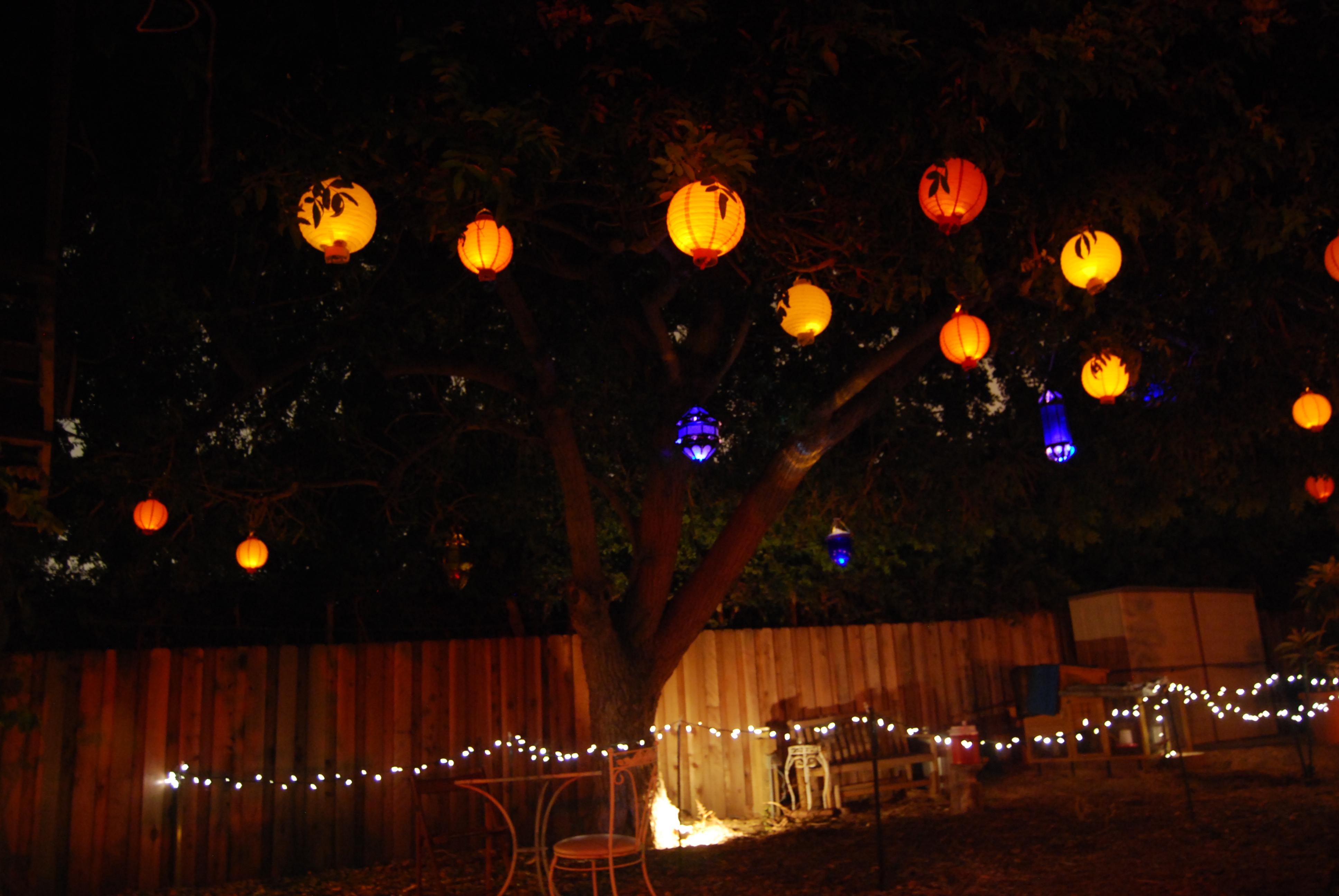 Outdoor Summer Party Lights Www Pixshark Com Images