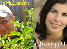 Back to My Garden's Dave Ledoux interviews Christy about writing, gardening and failure.