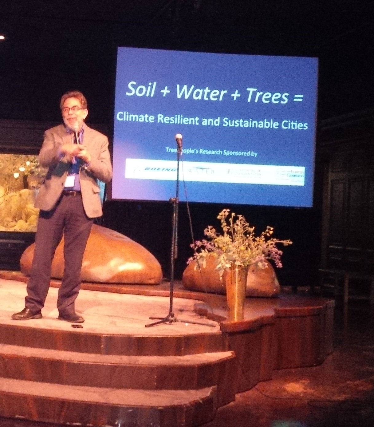 Soil + Water + Trees = Climate Resilience & Sustainable Cities