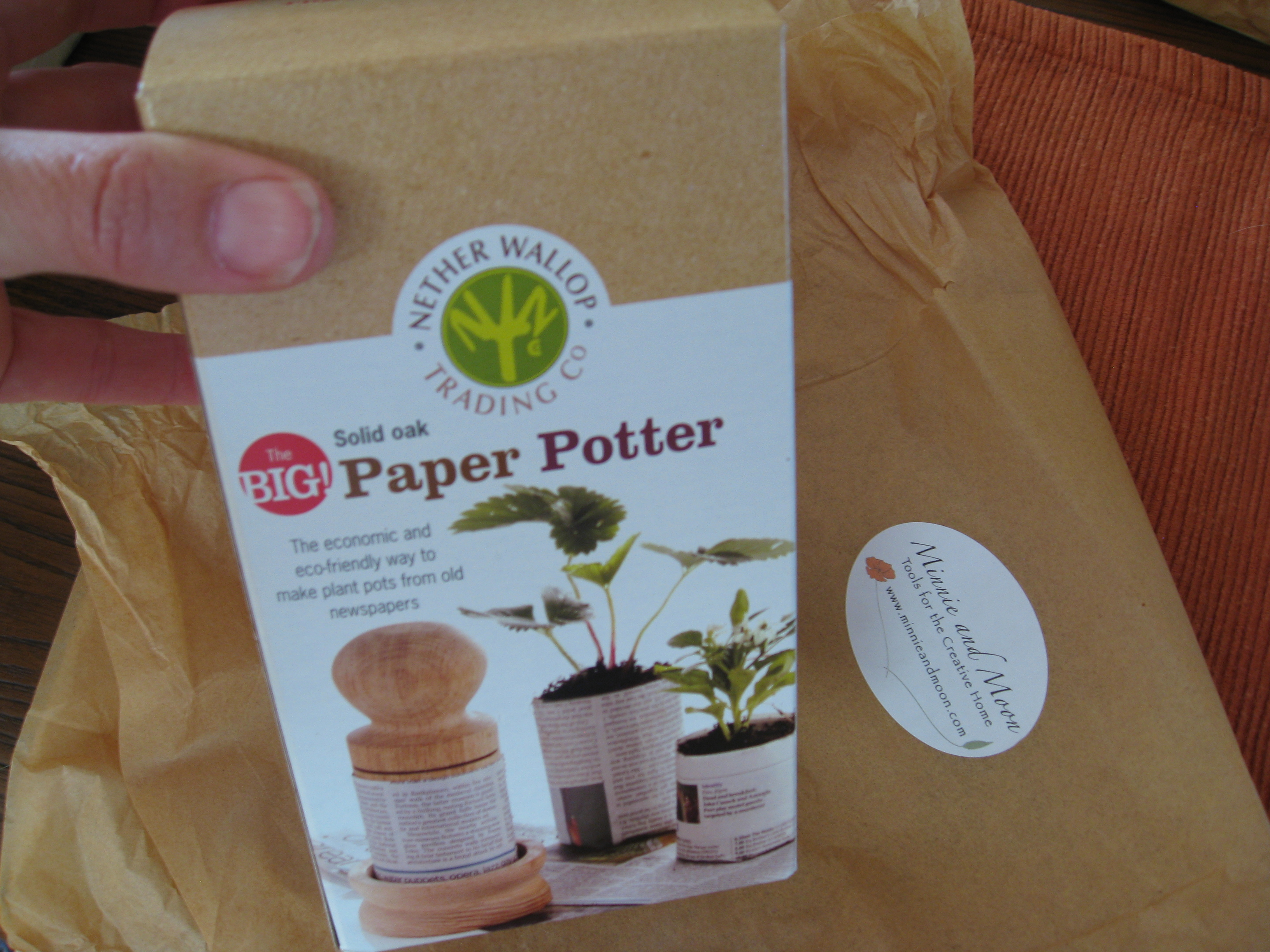 A want for some, a need for others: the Paper Pot Maker