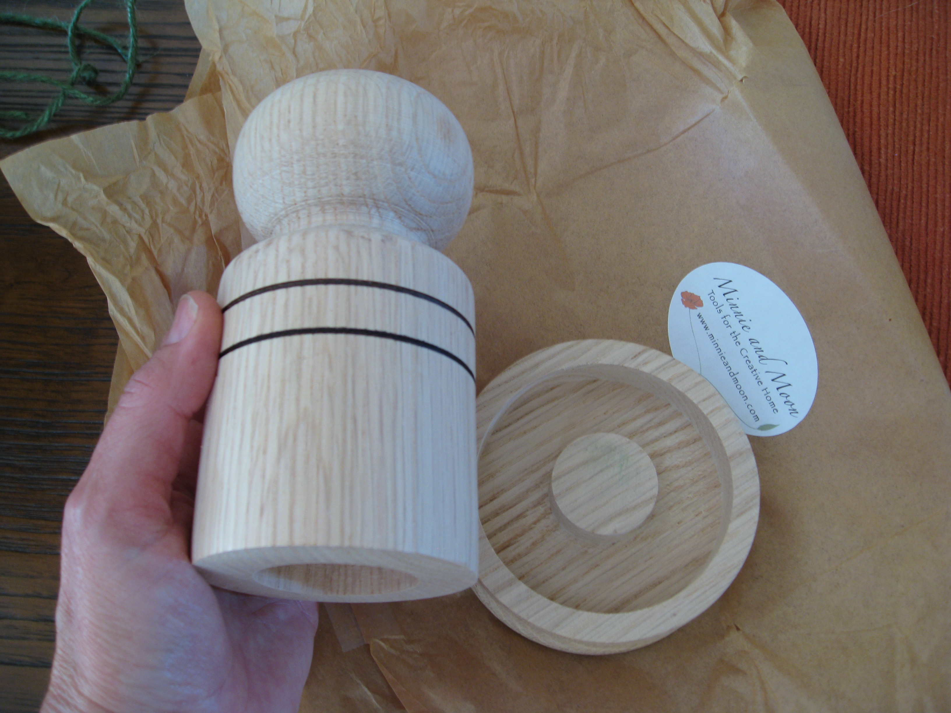 This Paper Pot Maker has been on our wish list for awhile.