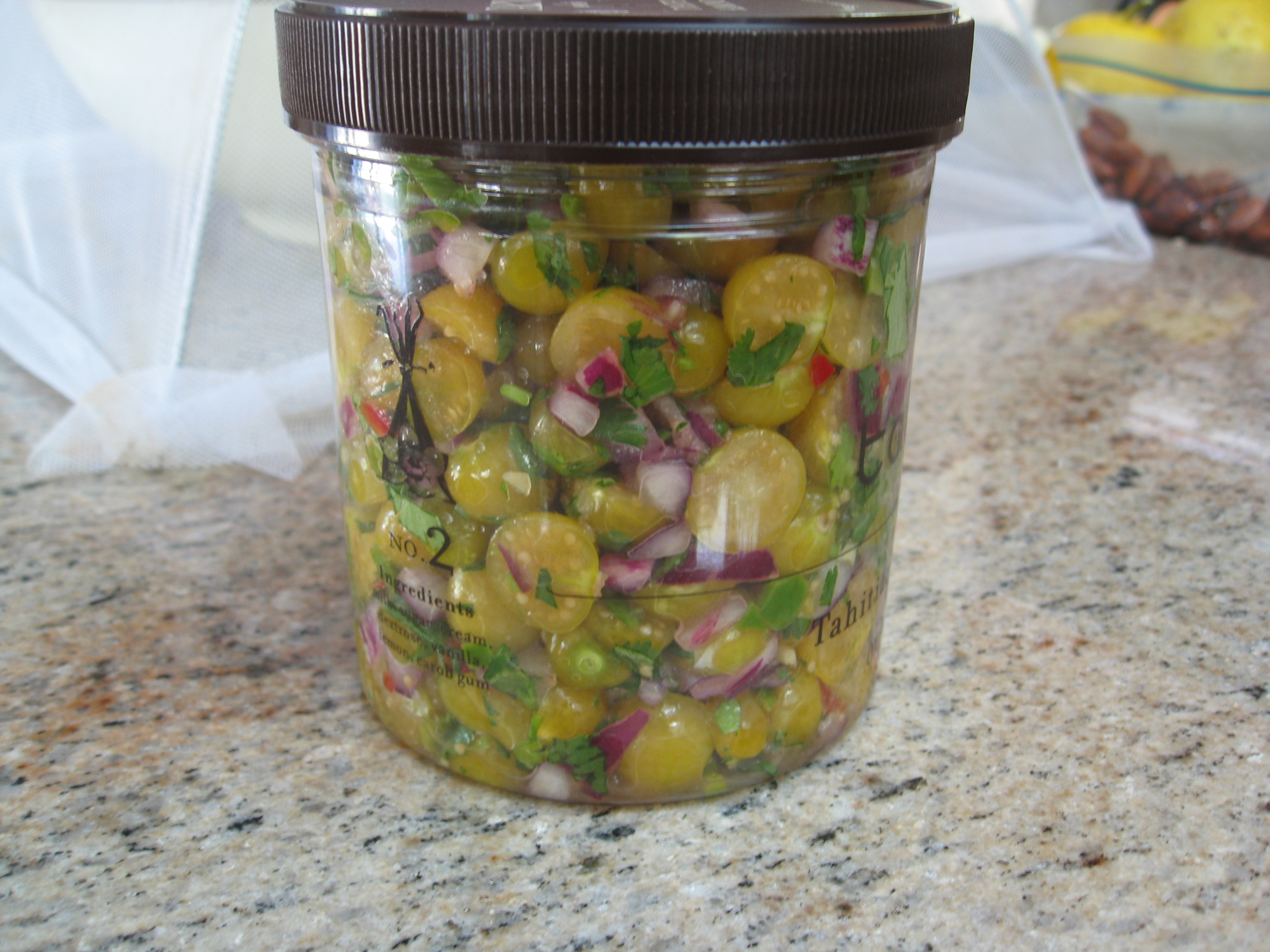 Ground Cherries make a great salsa that stores for about a week (if it lasts that long).