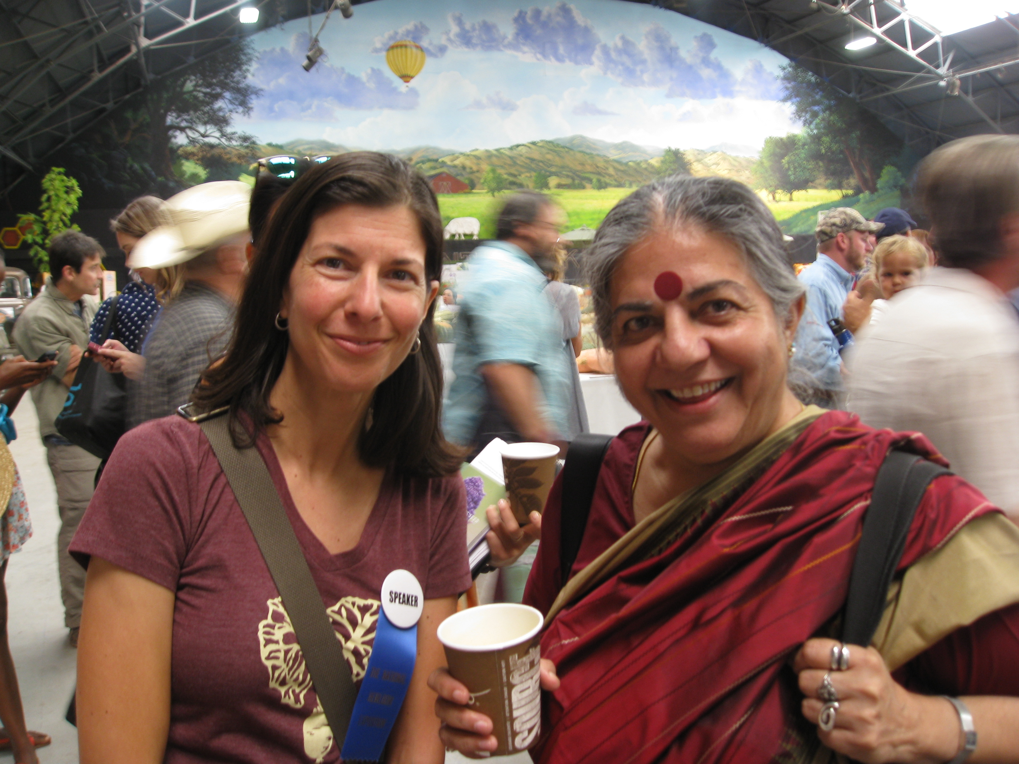 Dr. Vandana Shiva of Navdanya