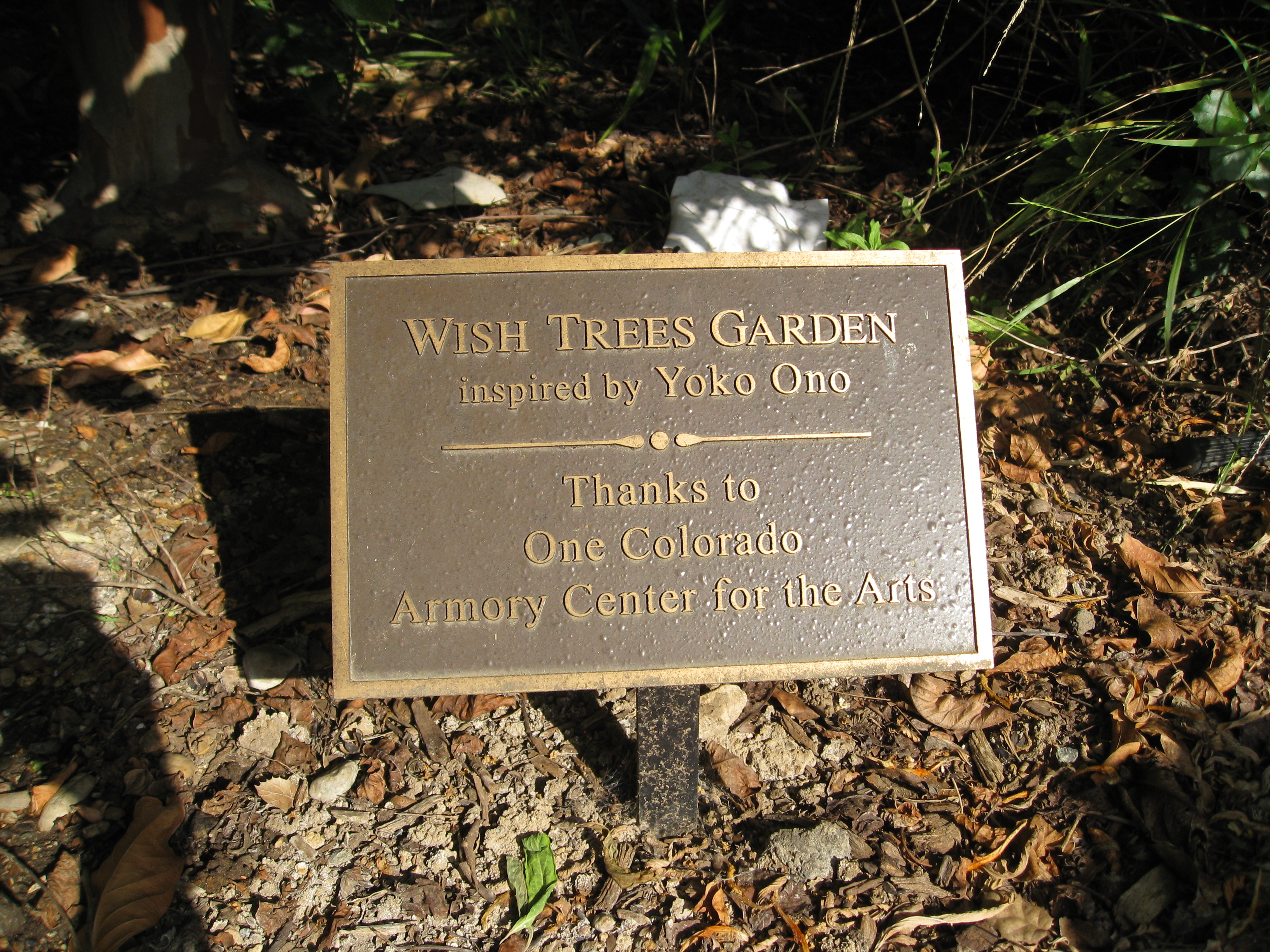 The Wish Trees Garden, a beautiful and heartfelt addition to the garden.