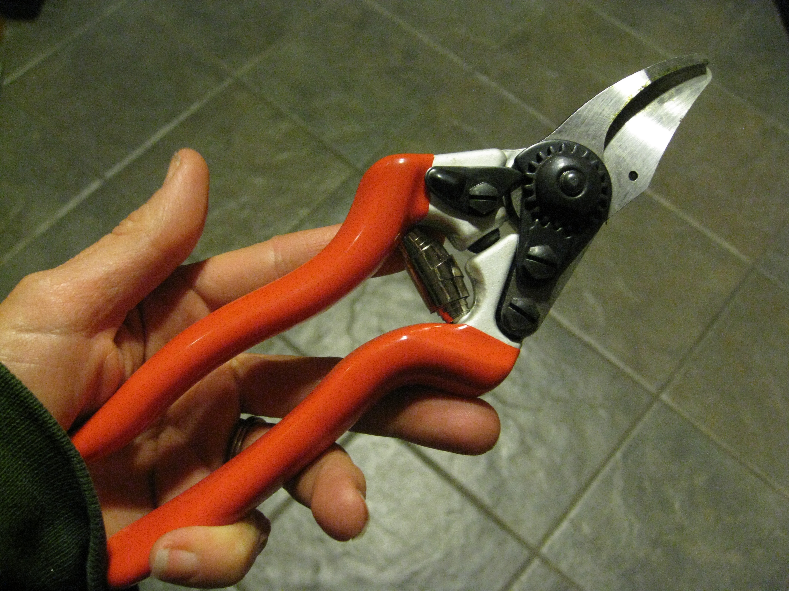 New pruning shears from Corona. Nice!
