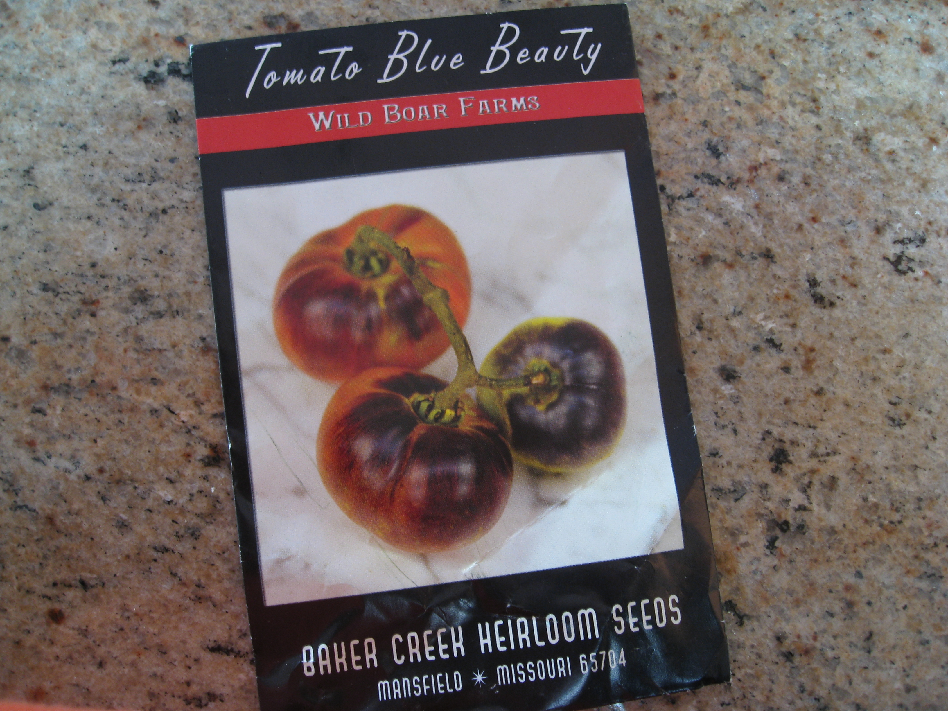 Blue, black and purple tomatoes have gained popularity once Brad figured out how to make them taste better than the original introductions.