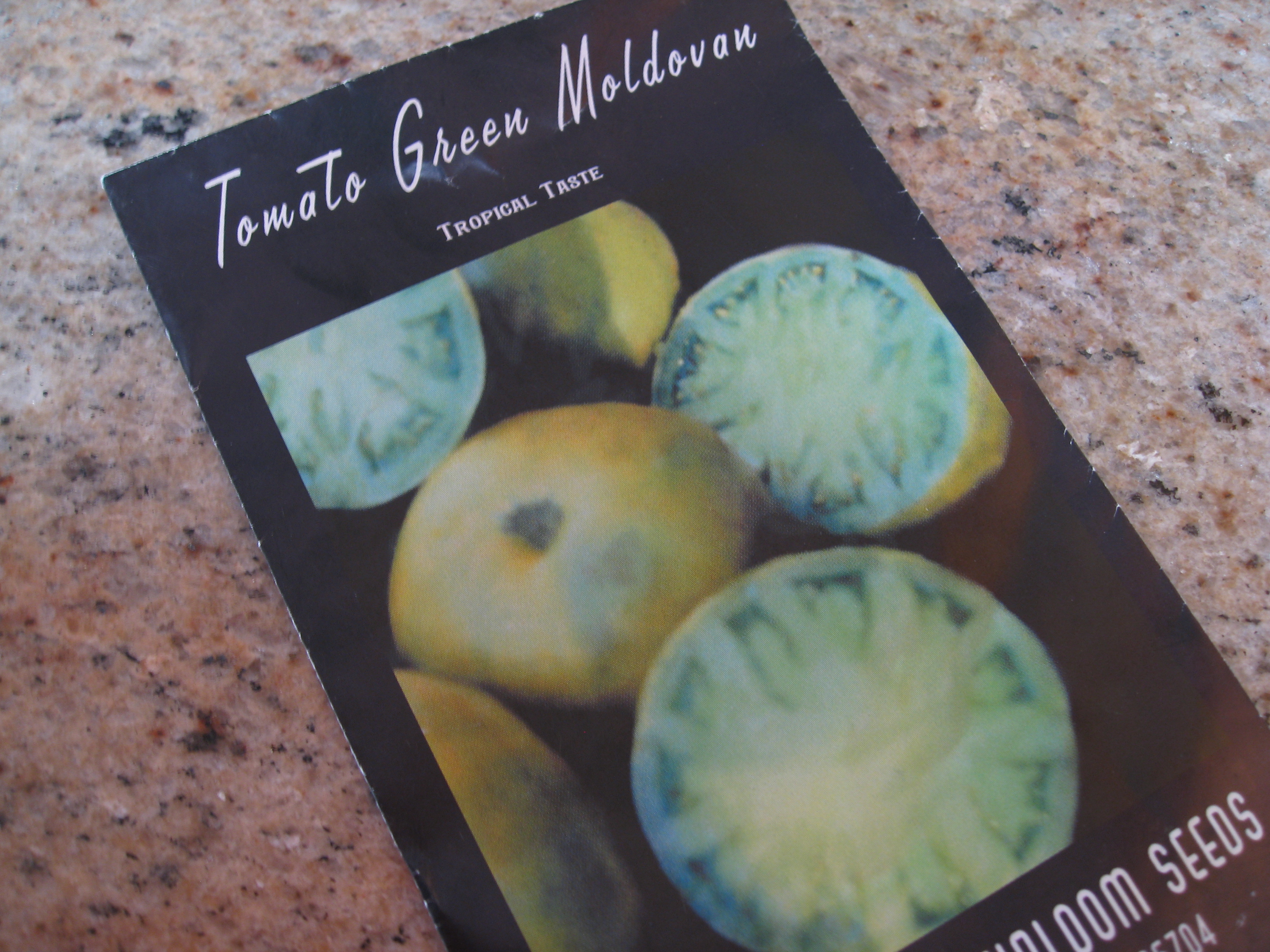 Green Moldovan tomato