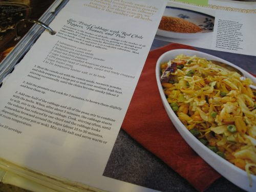 Read more about the article Recipe: Stir-Fried Cabbage with Chilies, Peanuts & Peas