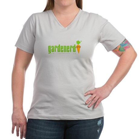 Women's V-neck T-shirt gives you room to breath with a stylish neckline.