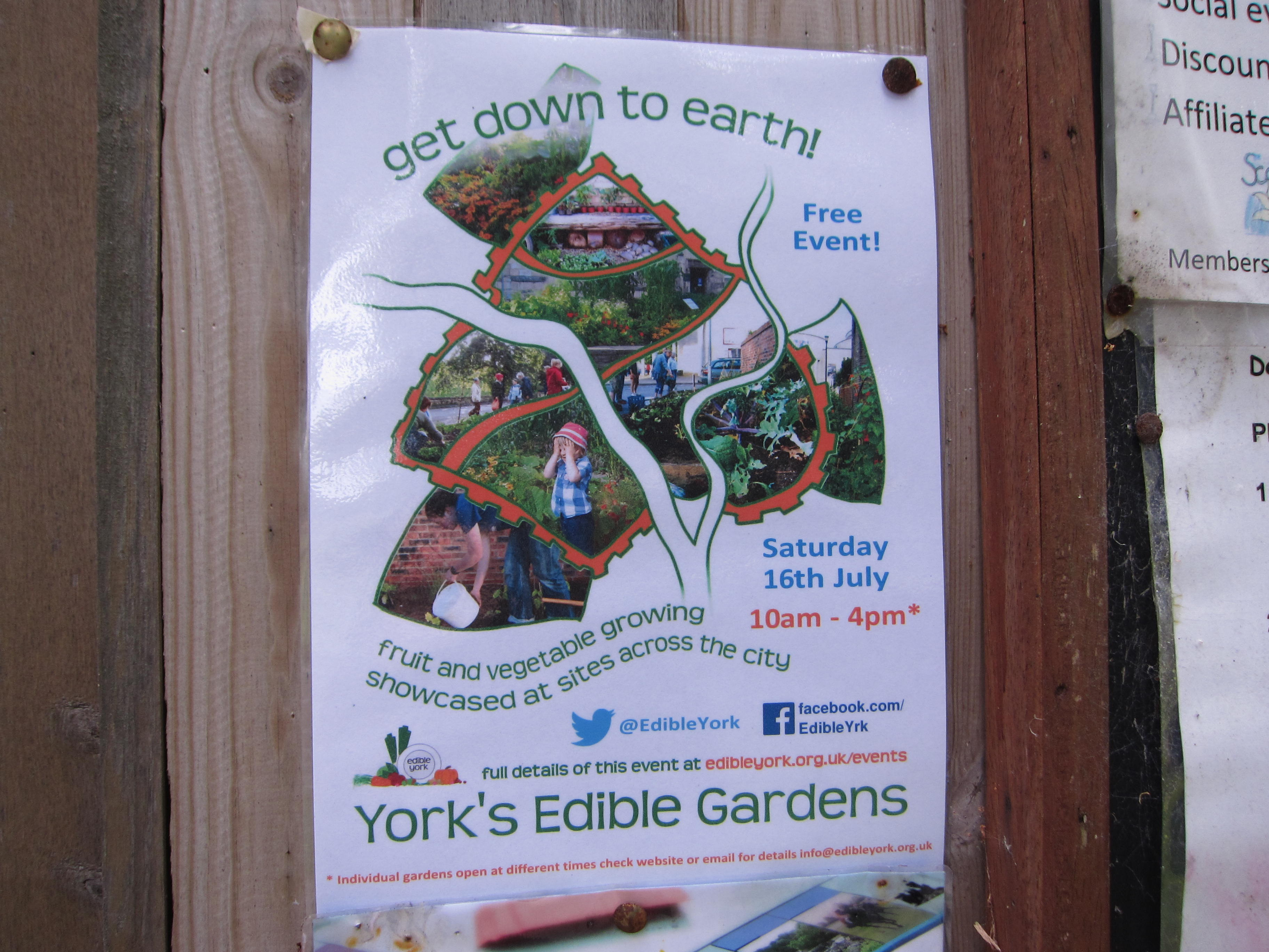York Edible Gardens is a city-wide program to support growing food in public and private spaces.