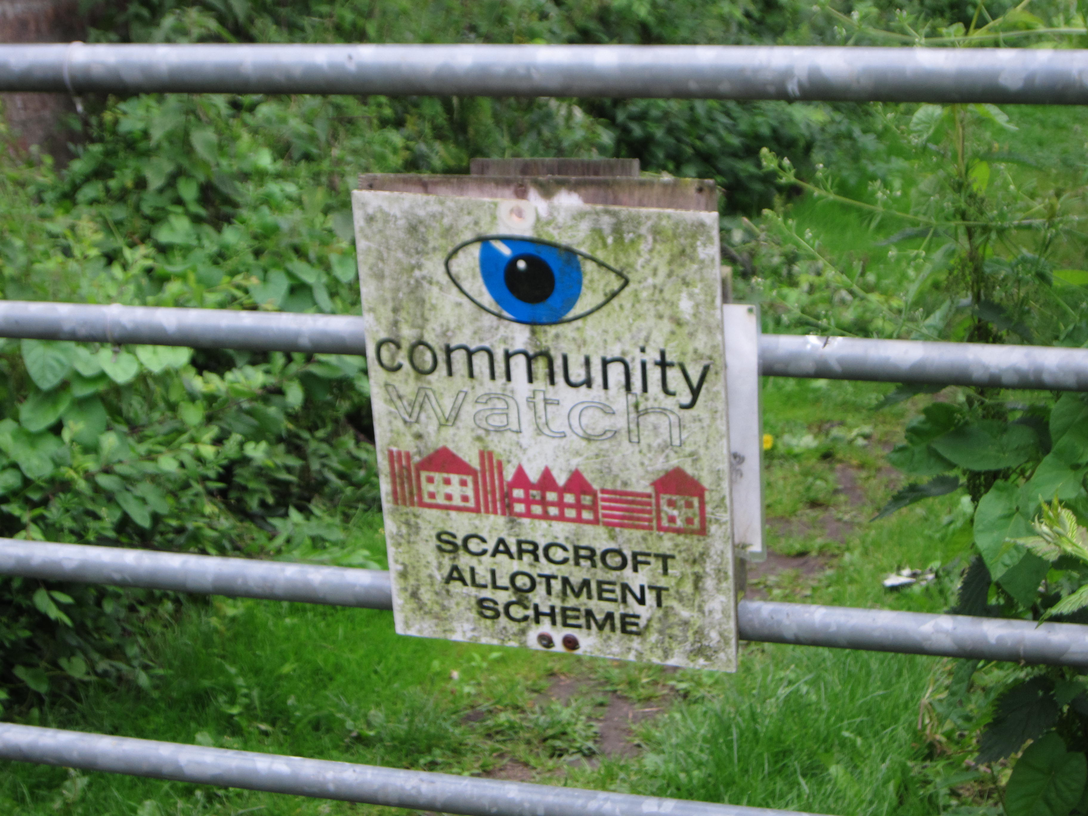 The Scarcroft Allotment Scheme. Sounds fishy, doesn't it?