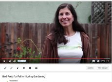 Find YouTube videos on how to prep raised beds for fall planting and more at the Gardenerd YouTube Channel.