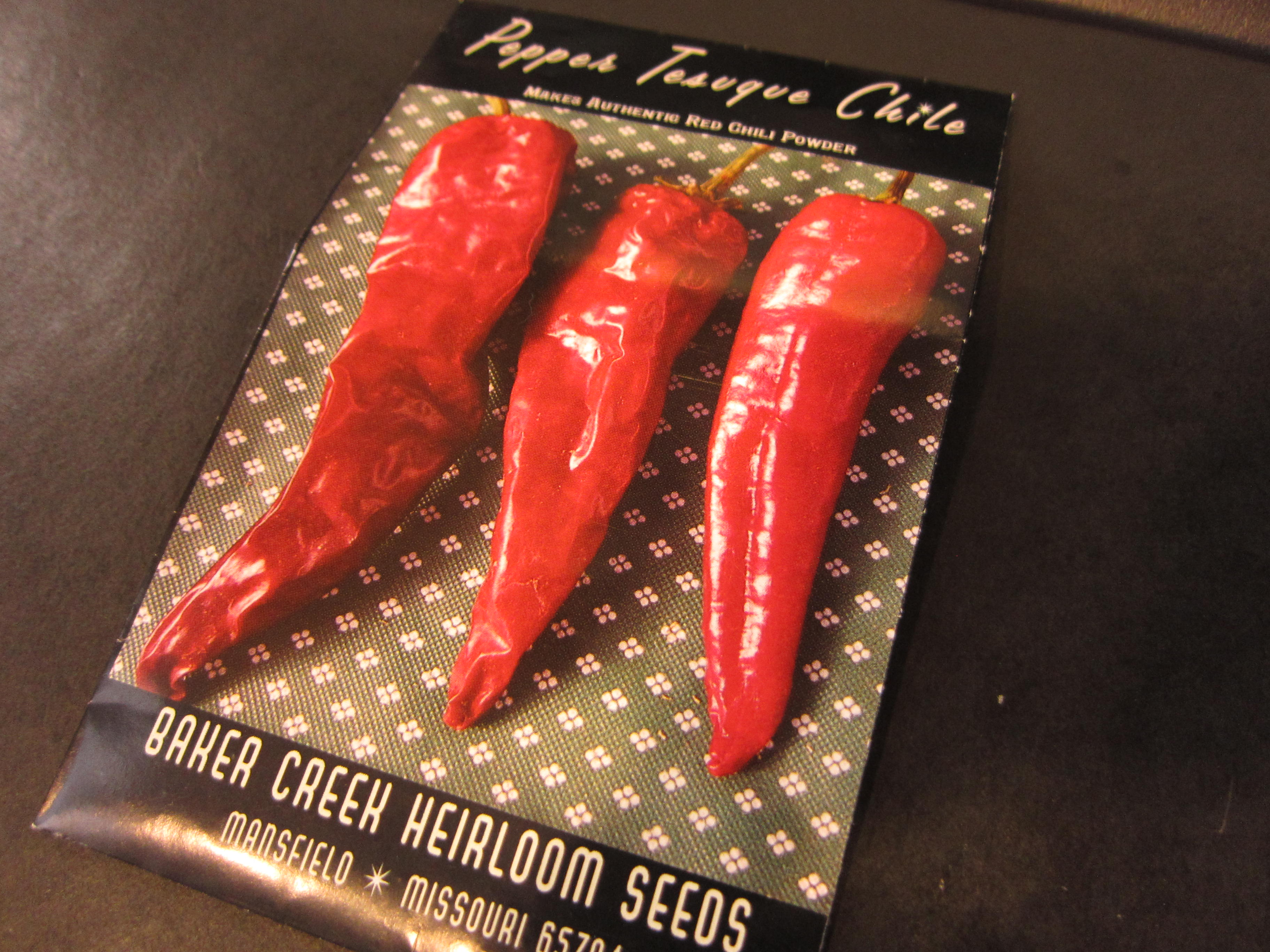 Tesuque is the traditional pepper used for making chili powder in New Mexico.