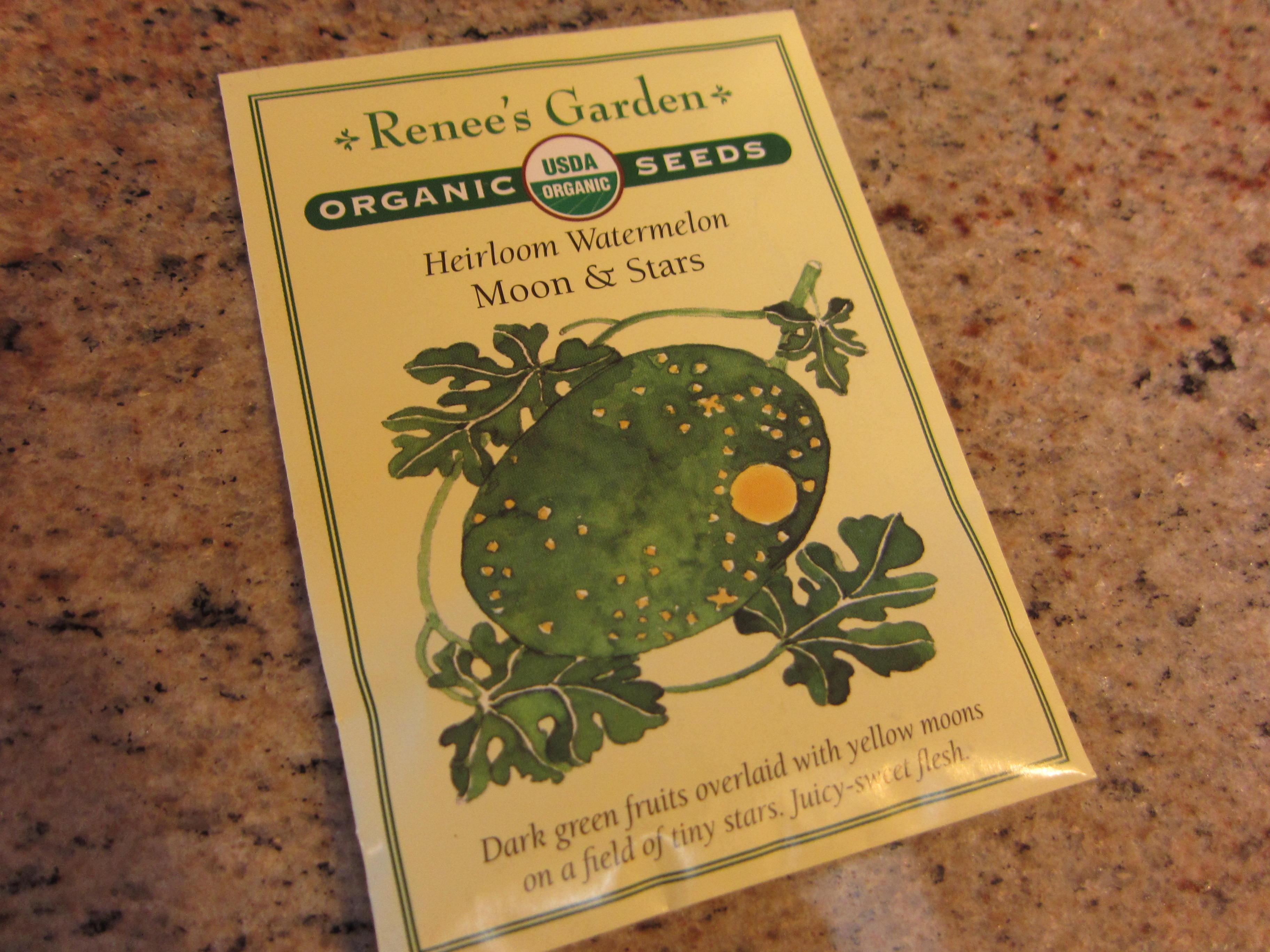 Moon and stars watermelon seed - Gardenerd