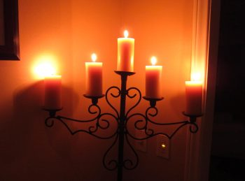 The warm glow of beeswax is comforting and beautiful.
