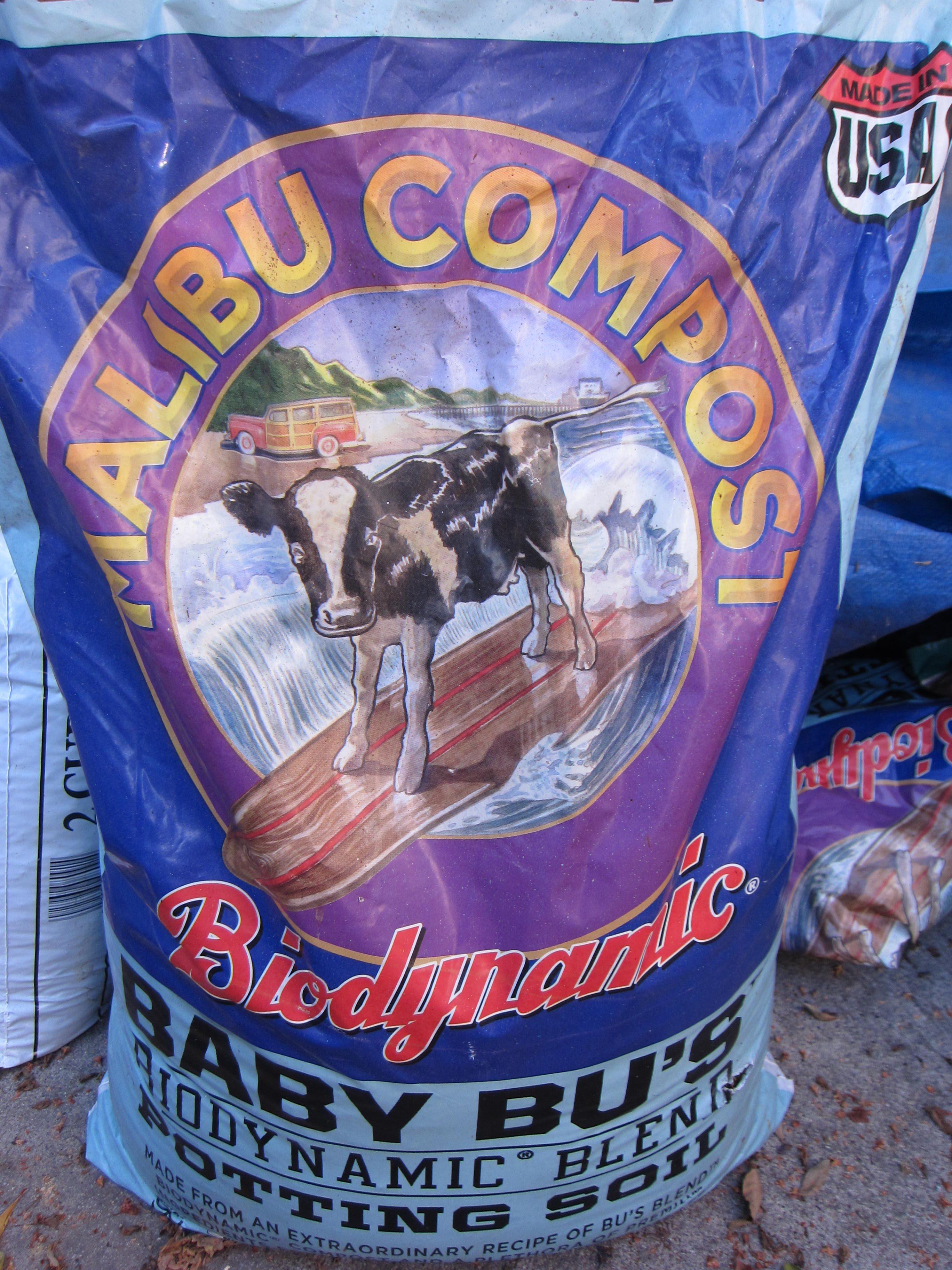 Malibu Compost soil