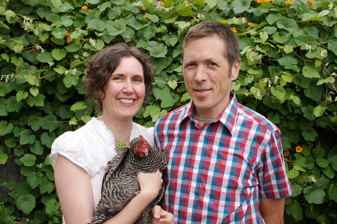 Erik Knutzen and Kelly Coyne