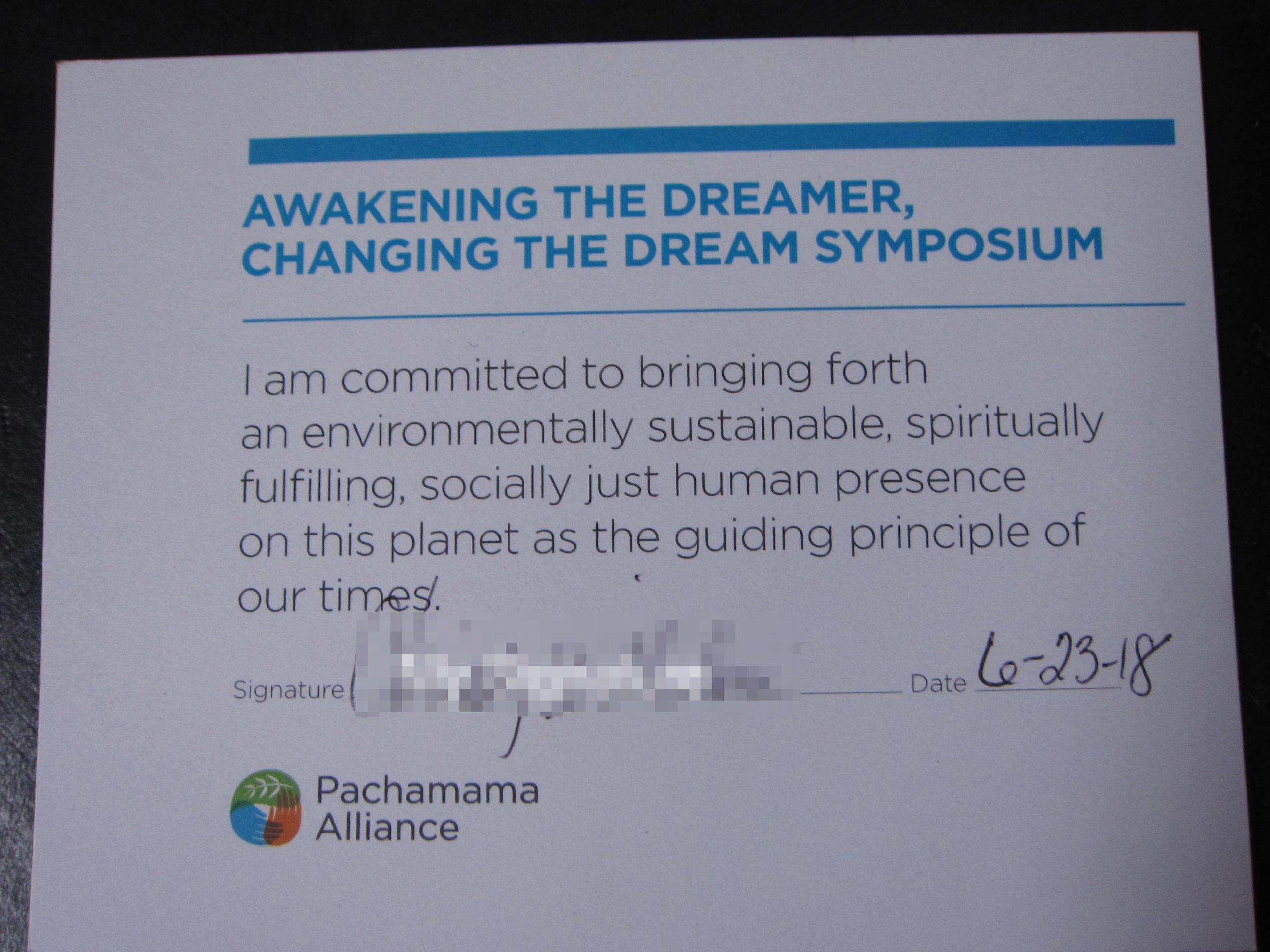 Read more about the article A Shift in Perspective: Pachamama Alliance