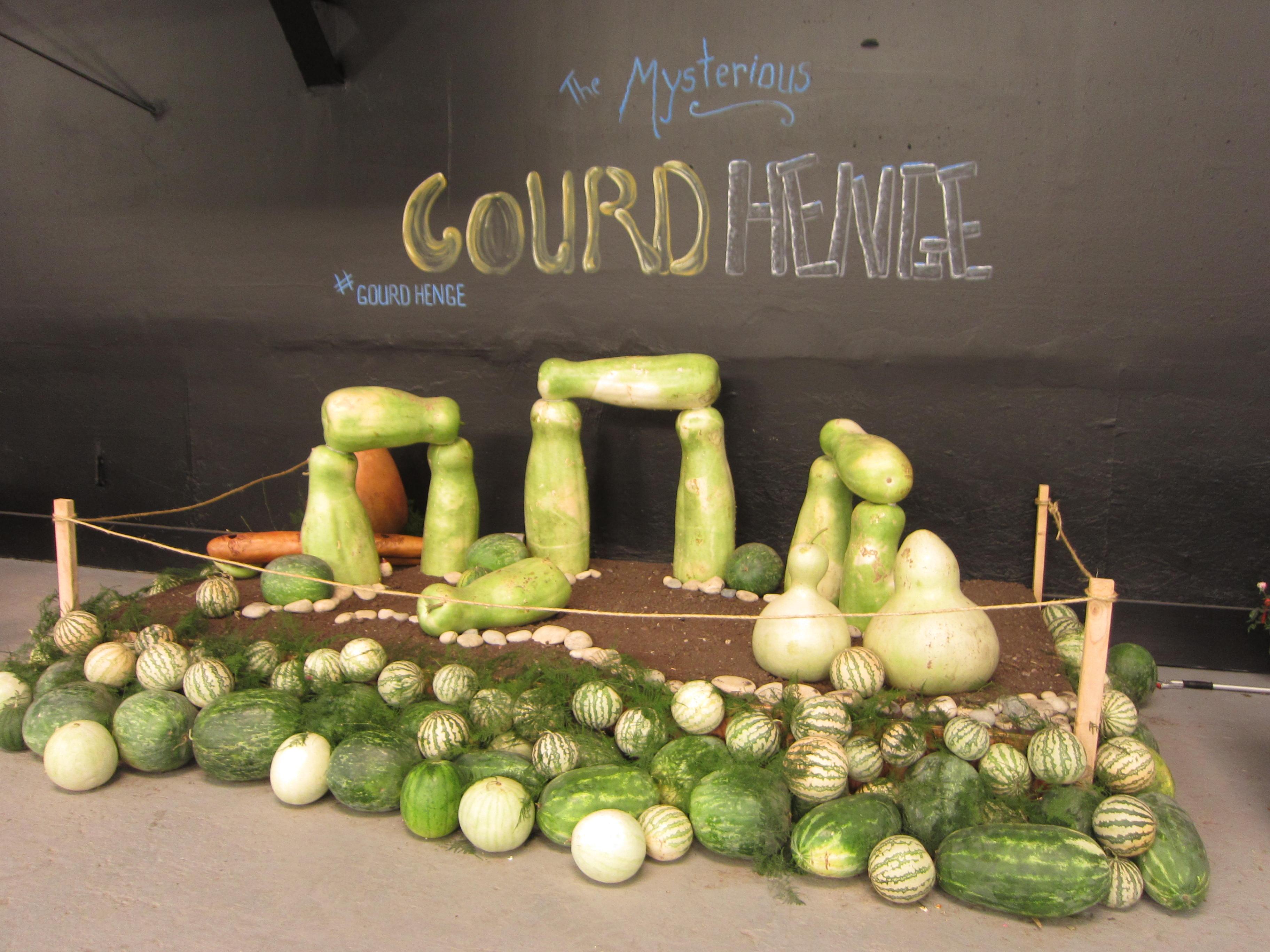Heirloom Expo Gourdhenge