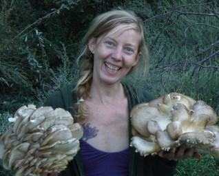 Erica and oyster mushrooms