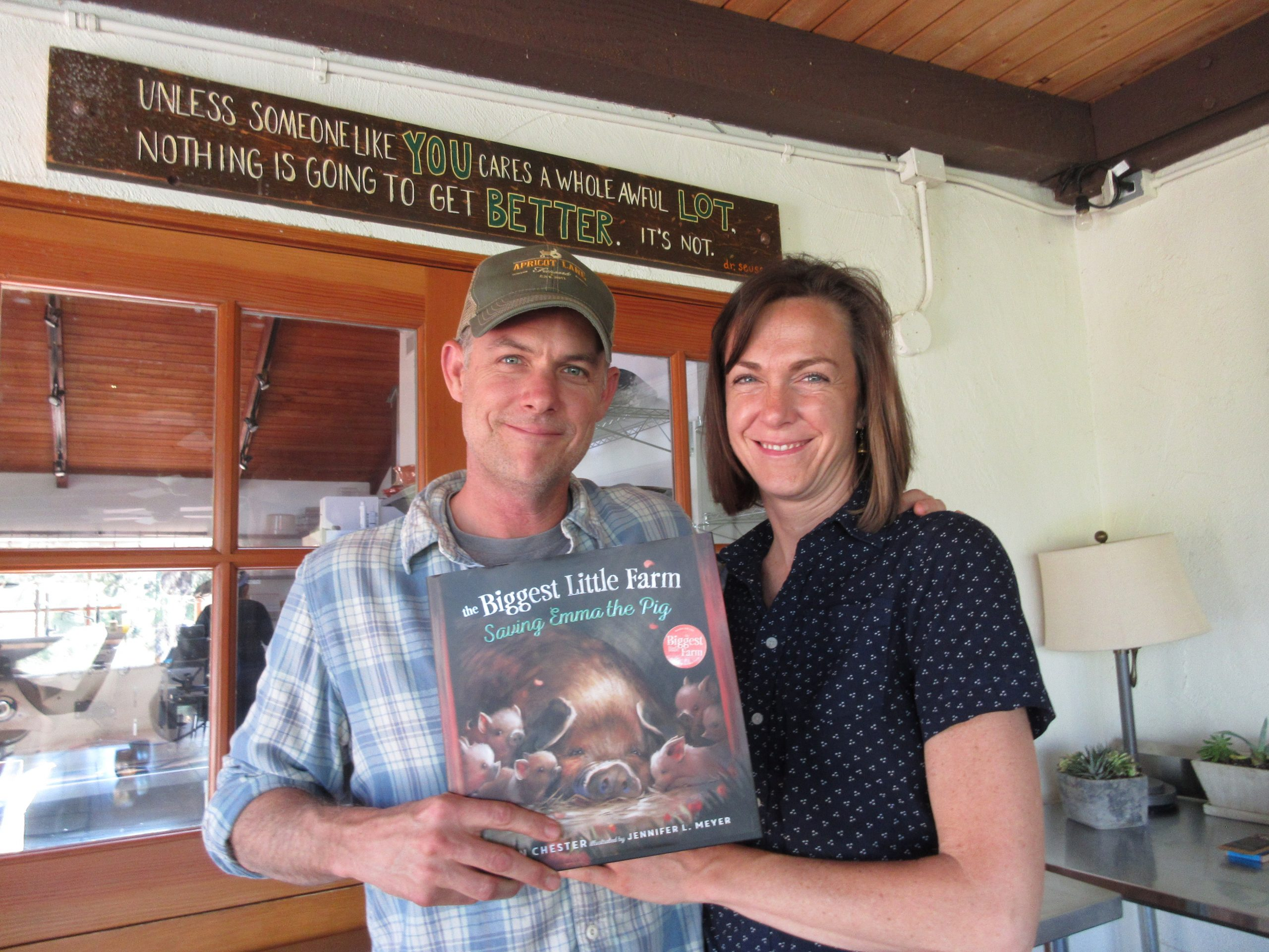 You are currently viewing Podcast: The Biggest Little Farm with John and Molly Chester