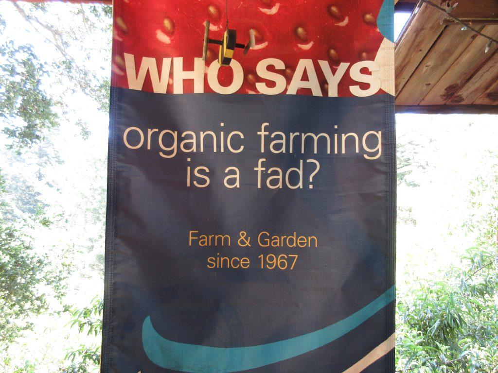 Alan Chadwick Garden Organic Fad