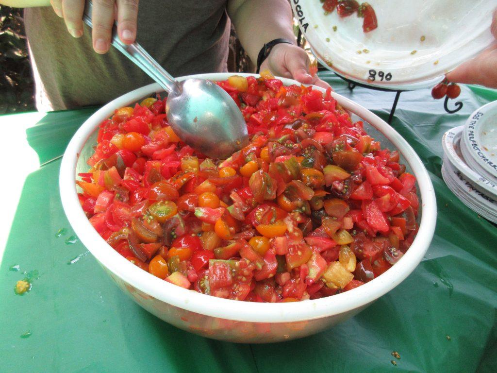Tomato Tasting Salsa