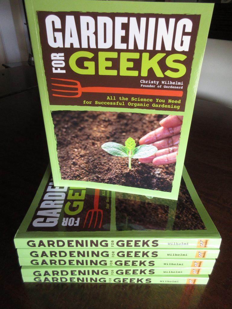 Gardening for Geeks Delivered