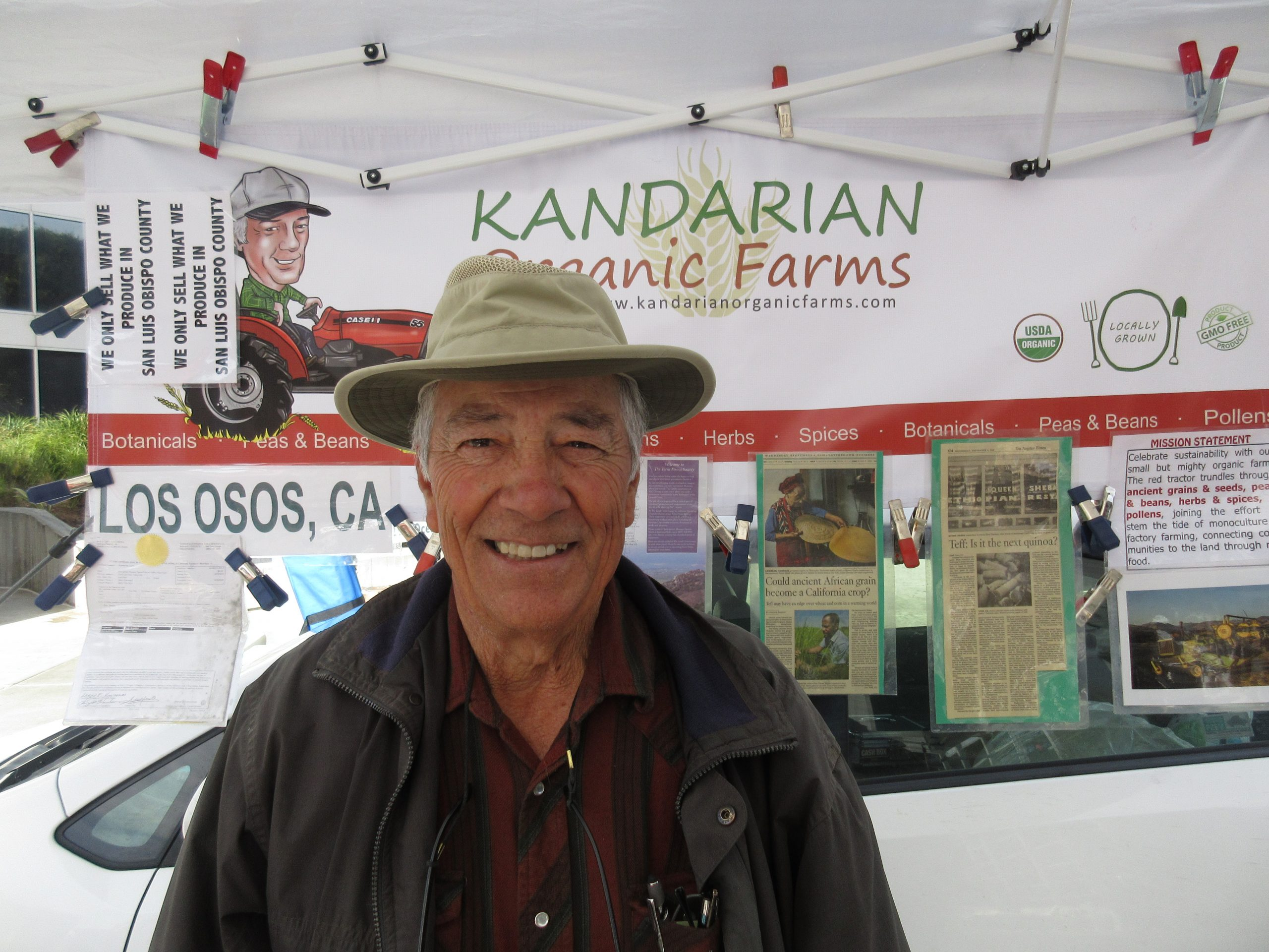 You are currently viewing Podcast: Growing Grains, Legumes, Pulses With Larry Kandarian