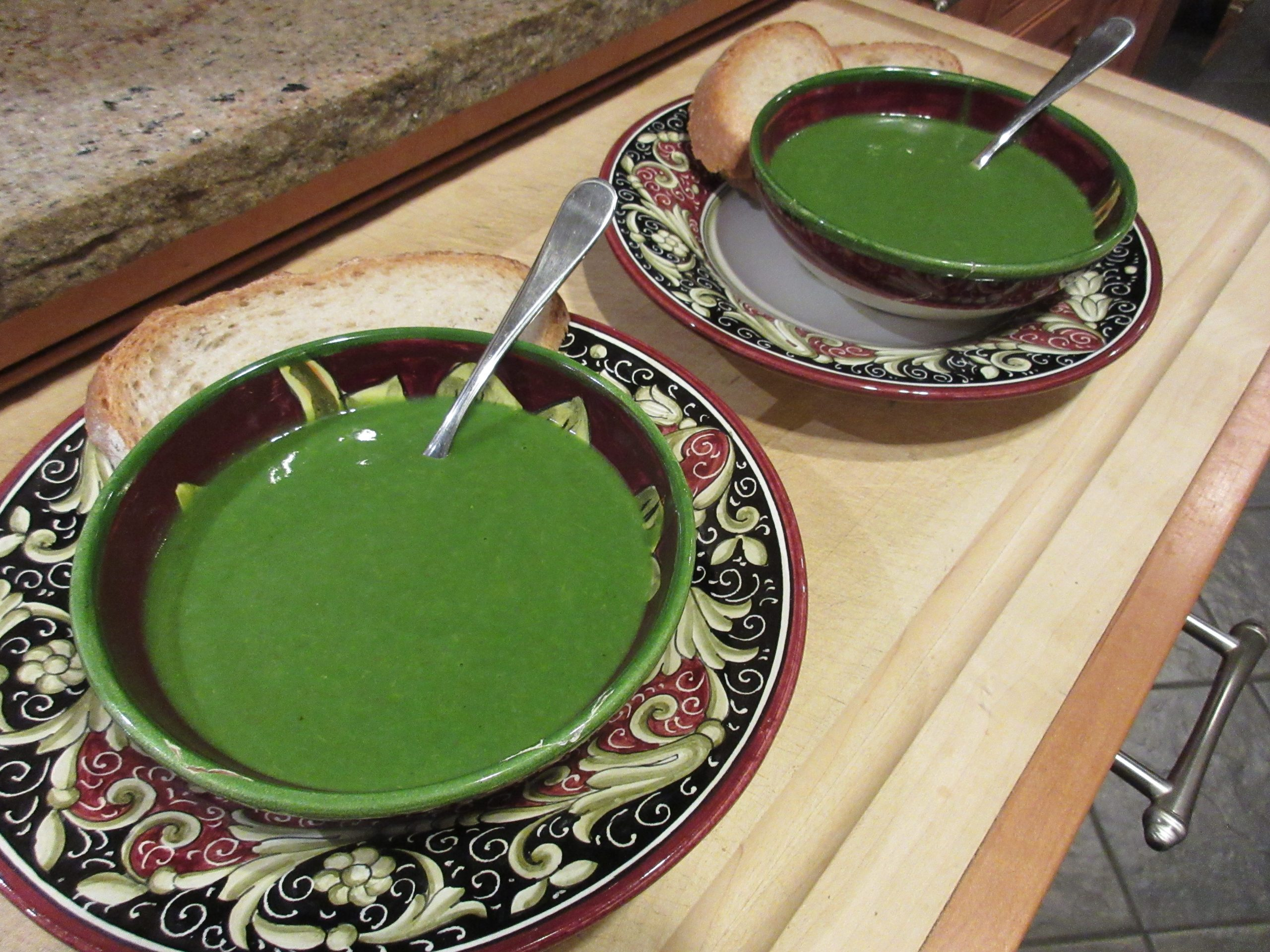 You are currently viewing Recipe: Stinging Nettle & Potato Soup