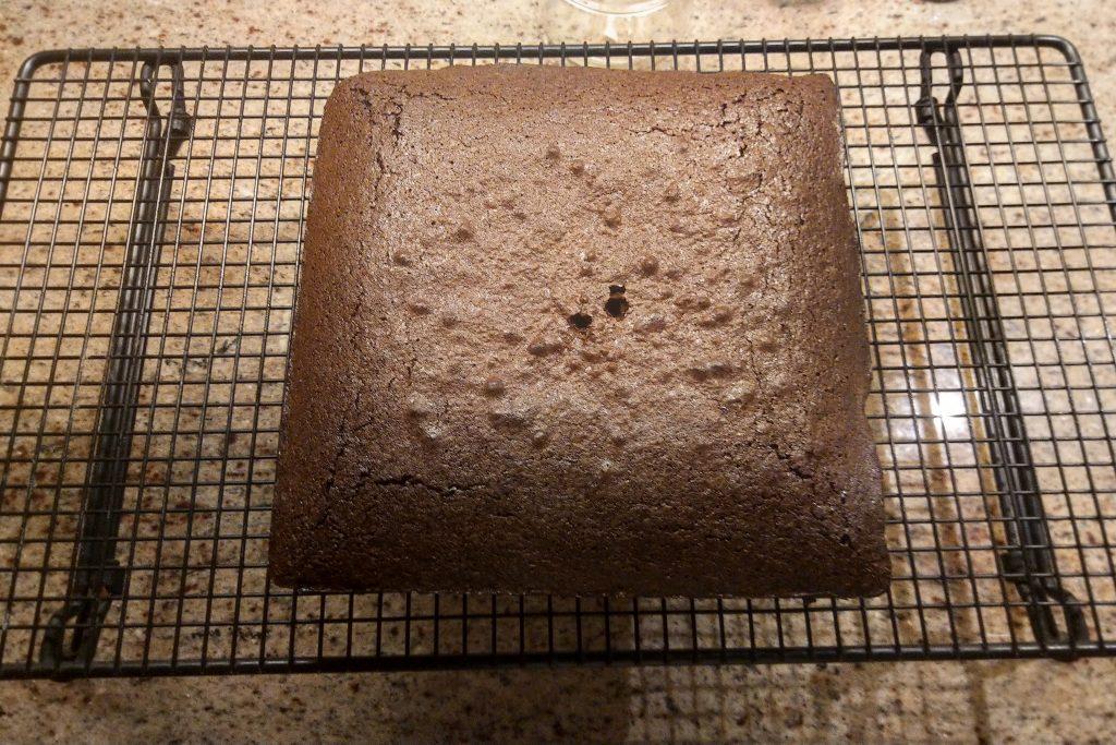 Heritage Brownies cooling