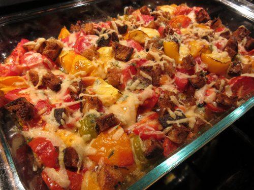 Read more about the article Recipe: Tomato Crouton Casserole