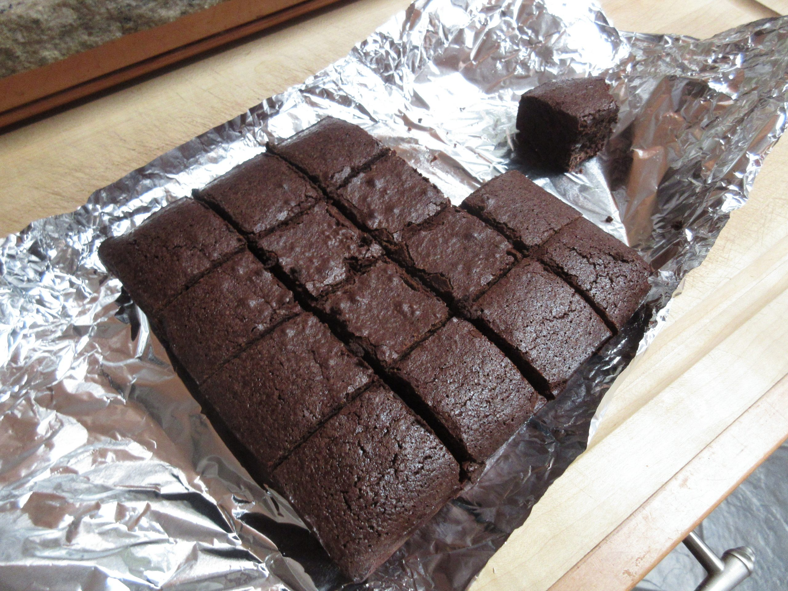 You are currently viewing Recipe: Heritage Dark Chocolate Brownies