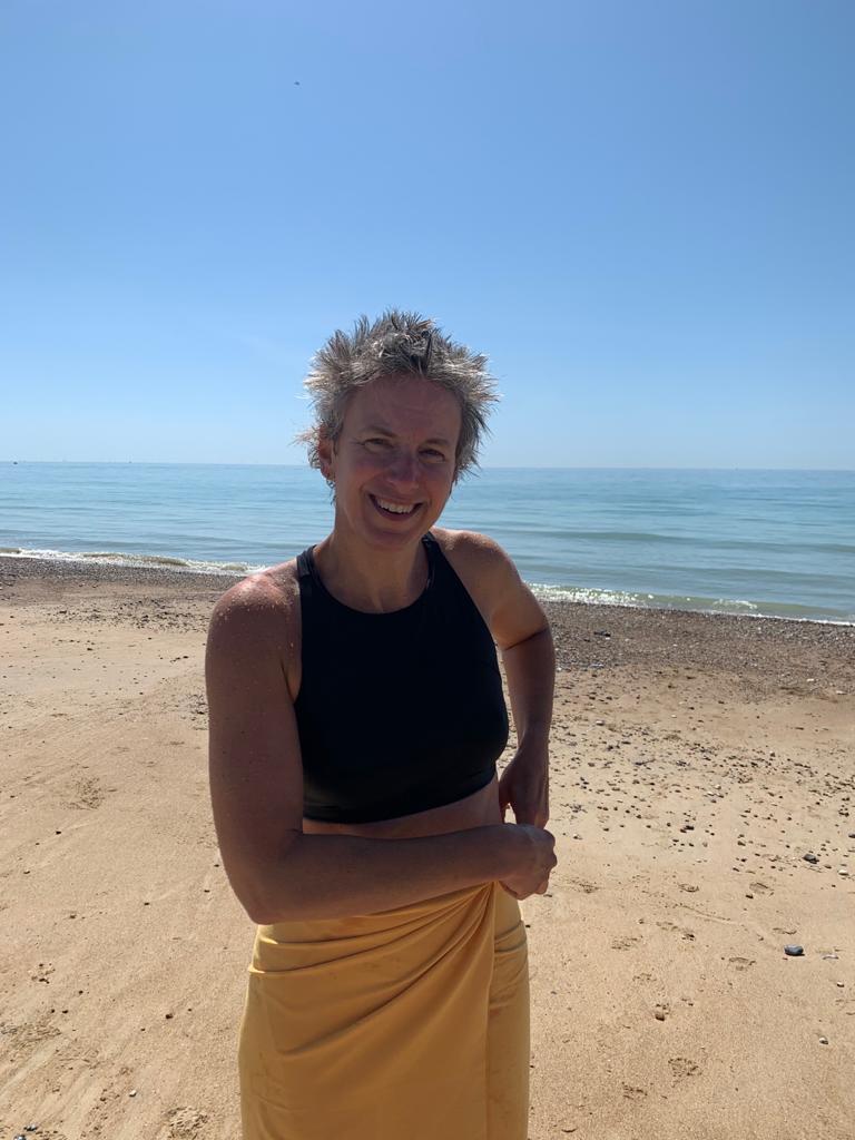 Tessa Wardley swimming